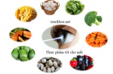 5 thực phẩm giúp đôi mắt sáng khỏe.