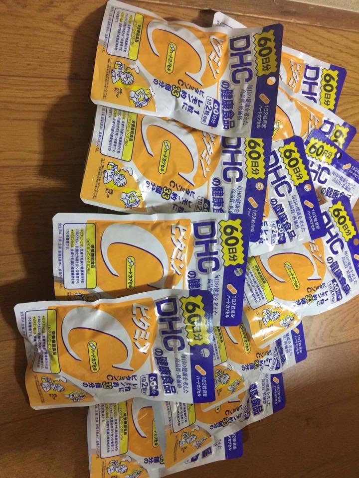 Viên Uống Bổ sung Vitamin C dhc