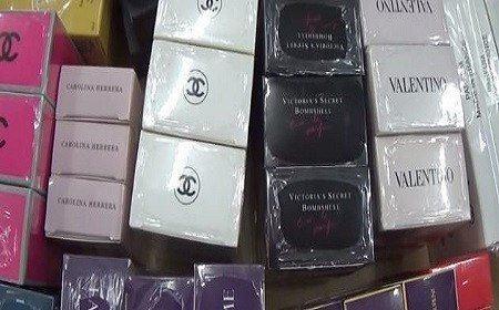 Nước hoa Chanel, Gucci bị làm giả từ hóa chất Trung Quốc - Ảnh 1