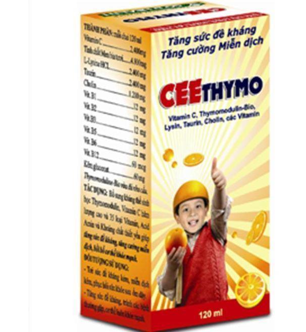 Tăng đề kháng Cee thymo là gì? có tốt không? mua hàng thật ở đâu?