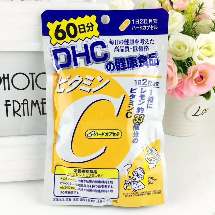 Tác dụng phụ của dhc vitamin c, cách dùng và review