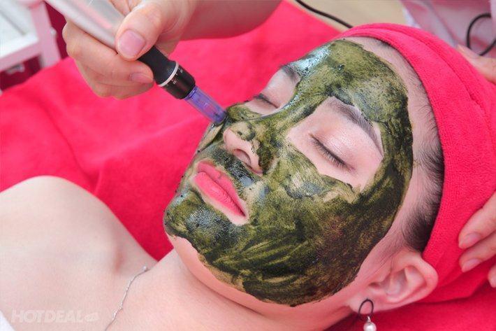 Cấy tảo lên da mặt