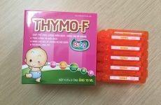 Thuốc Thymo-F tăng sức đề kháng cho bé có tốt không?
