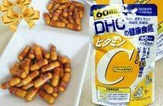 Vitamin c dhc là gì? Cách uống dhc-Cách dùng vitamin c dhc chuẩn