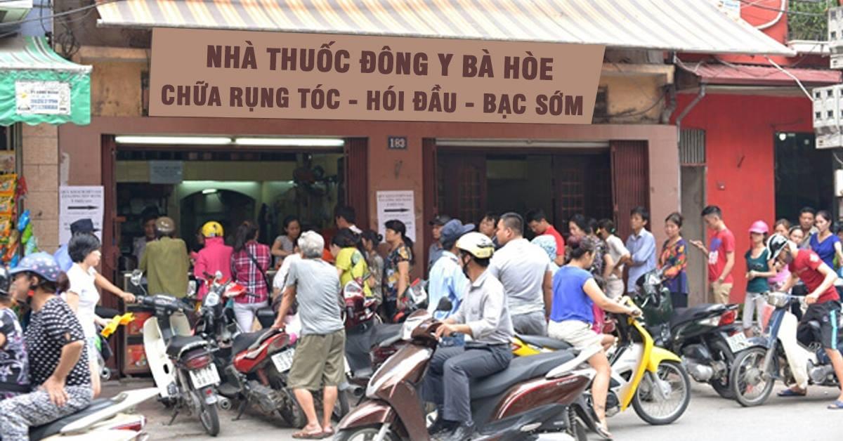 Thuốc mọc tóc bà Hòe tại Hà Giang