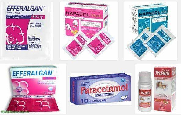 Cách sử dụng thuốc hạ sốt ở trẻ em