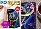 Review Trà giảm cân ban đêm Night Diet Tea Orihiro của Nhật Bản