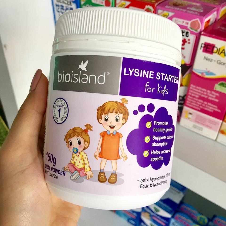 Bio Island Lysine Starter for kid có tốt không?