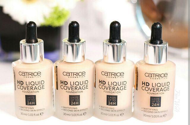 Kem nền Catrice HD Liquid Coverage