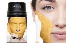 Cách sử dụng mặt nạ vàng 24k gold mask casmara, review