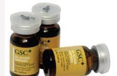 Tế bào gốc trị nám, tế bào gốc trị sẹo rỗ, tế bào gốc trị mụn GSC :Thành phần và công dụng