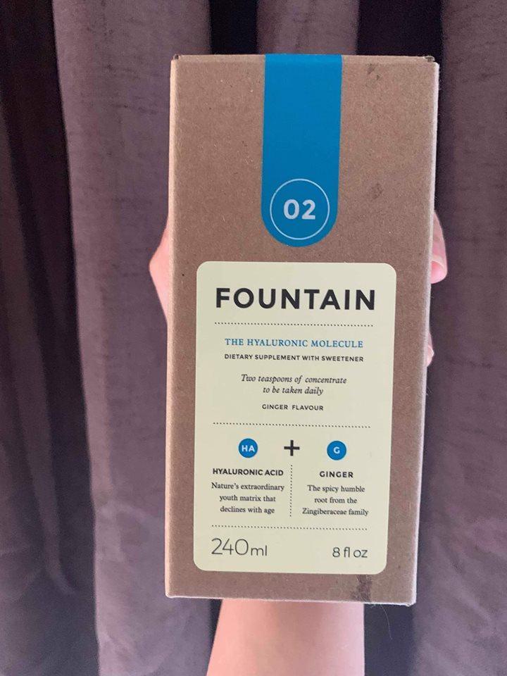 Review nước uống the fountain hyaluronic molecule ,mua ở đâu?