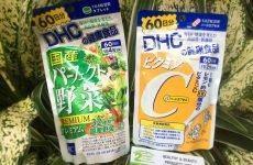 Cách uống viên DHC rau củ kết hợp viên vitamin c DHC