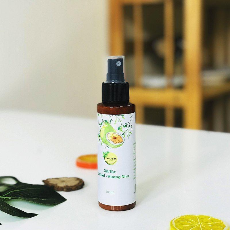 Xịt tóc dinh dưỡng tinh dầu bưởi greenbon có tốt không?