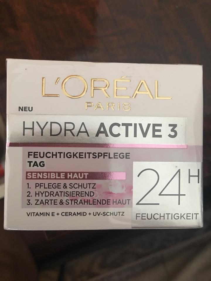 Ảnh thực tế Kem dưỡng Loreal Hydra active 3