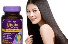 Thuốc uống mọc tóc biotin có tốt không? Liều dùng ra sao?