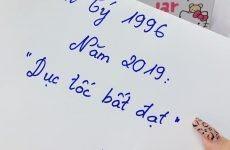 1996- Bính Tý – trong năm 2019