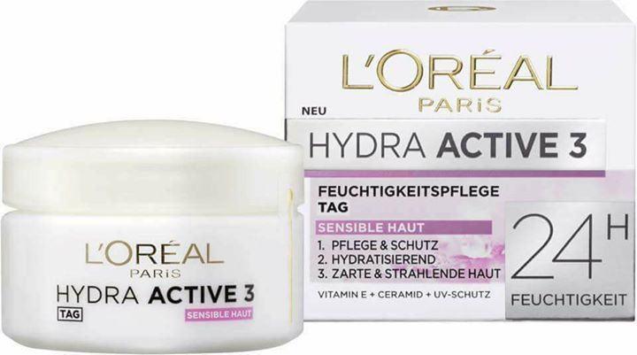 Review Kem dưỡng Loreal Hydra active 3