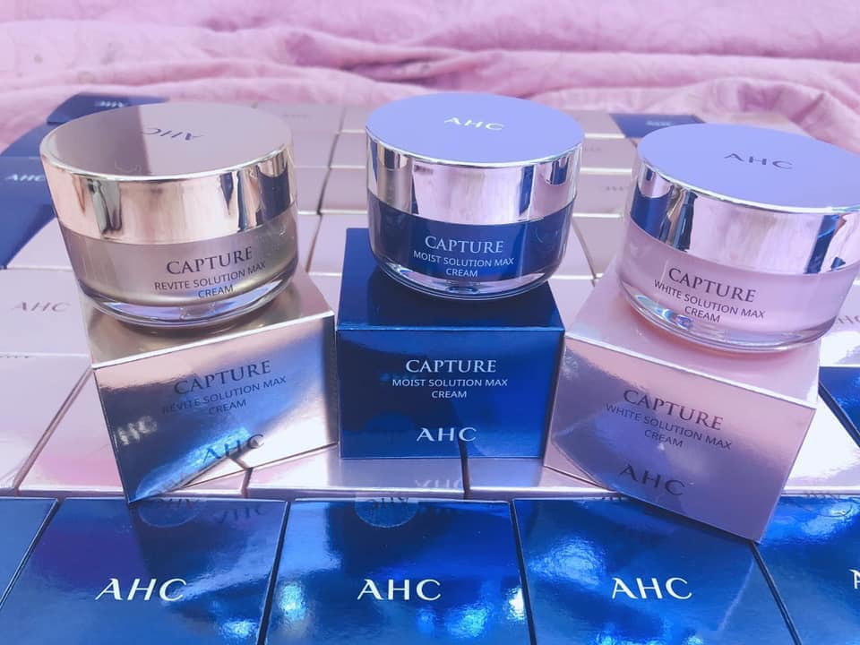 Kem dưỡng AHC Capture Solution Max Cream 50ml