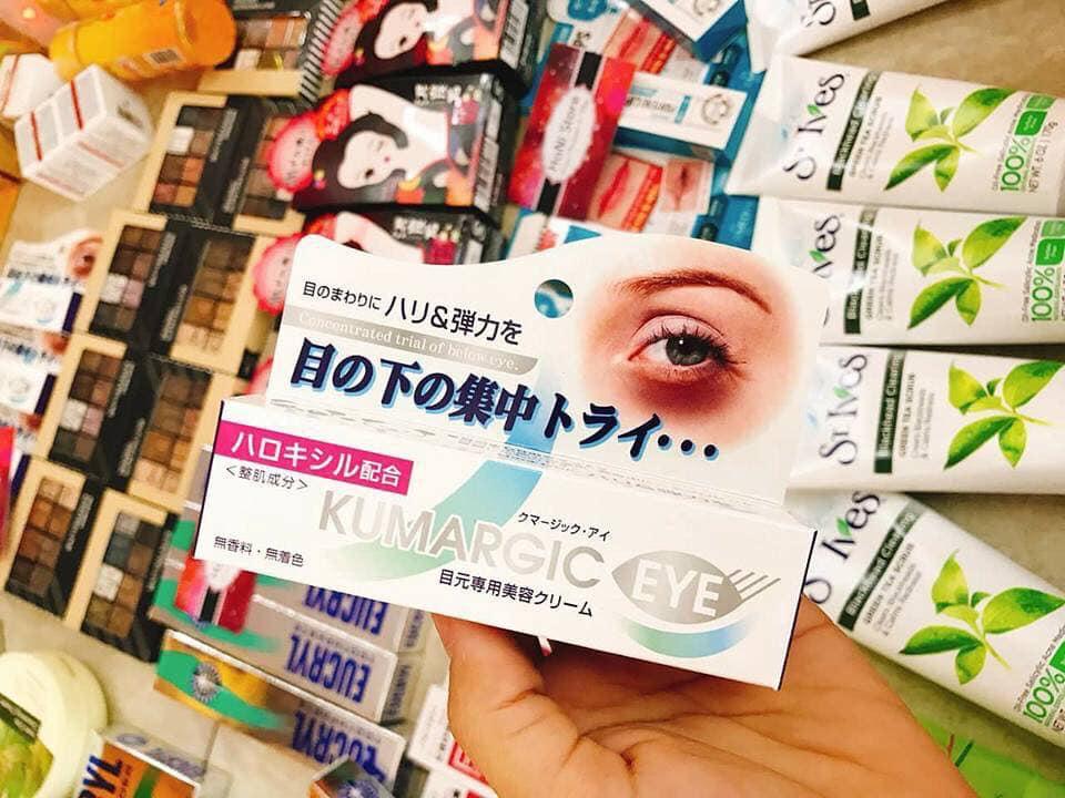 Review kem mắt Kumargic 20g Nhật Bản