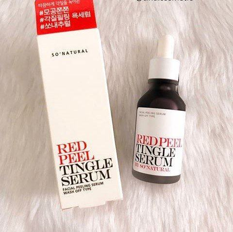 Tinh chất serum Red Peel Tingle Serum
