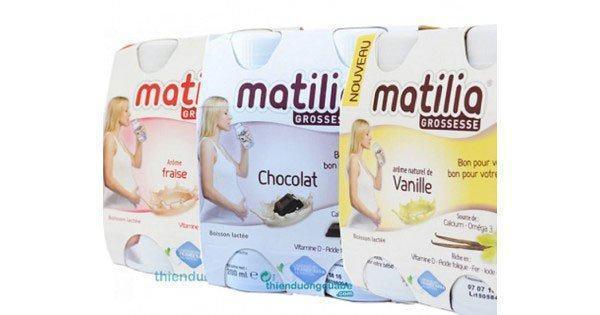 Sữa bầu Matilia có tác dụng gì?