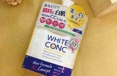 Review sữa dưỡng thể white conc white cc cream 200g – Nhật Bản