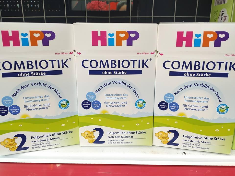 Sữa Hipp Organic hàng nội địa Đức