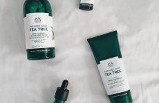 Review về bộ sản phẩm Tea Tree cho da mụn của The Body Shop