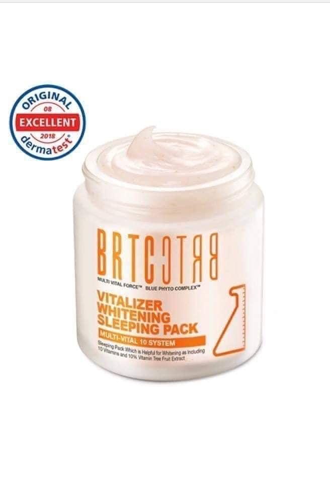 Mặt nạ ngủ dưỡng trắng BRTC Vitalizer Whitening Sleeping Pack