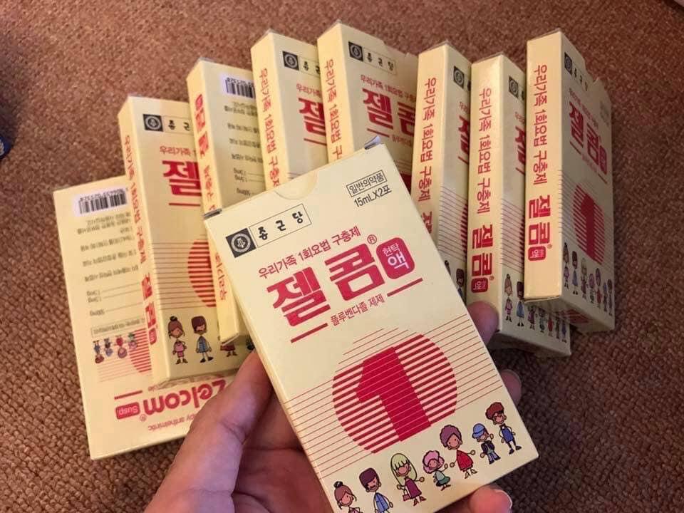Thuốc tẩy giun của Hàn Quốc có tốt không?