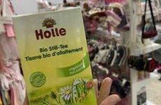 Trà lợi sữa Holle Organic có tốt cho mẹ sau sinh? Review trà Holle Organic