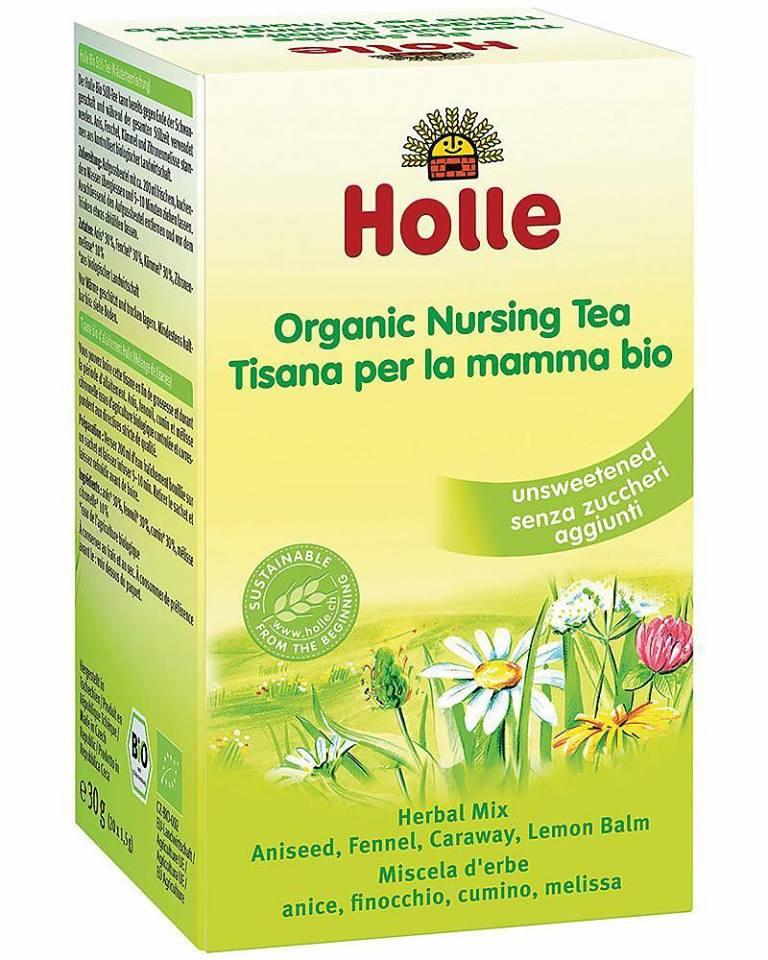 Trà lợi sữa Holle Organic