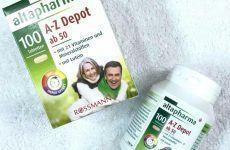 Review vitamin A-Z Depot 100 viên của Đức có tốt không? Cách sử dụng như thế nào?