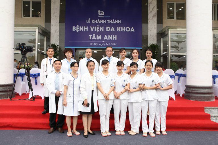 Đội ngũ y bác sĩ Bệnh viện đa khoa Tâm Anh