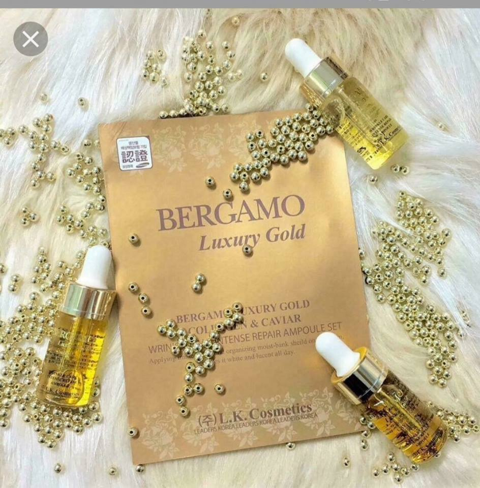 Serum bergamo trị mụn review