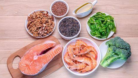 Thực phẩm giàu axit béo omega 3