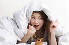 Thức khuya gây béo phì – mất trí nhớ