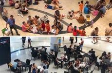 Nhân cách sử xự của siêu thị AEON Mall Long Biên với khách hàng trong một đợt nắng nóng tại Hà Nội