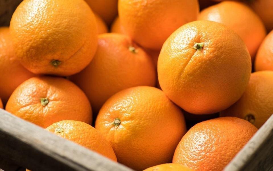 Cam là trái cây rất giàu Vitamin C