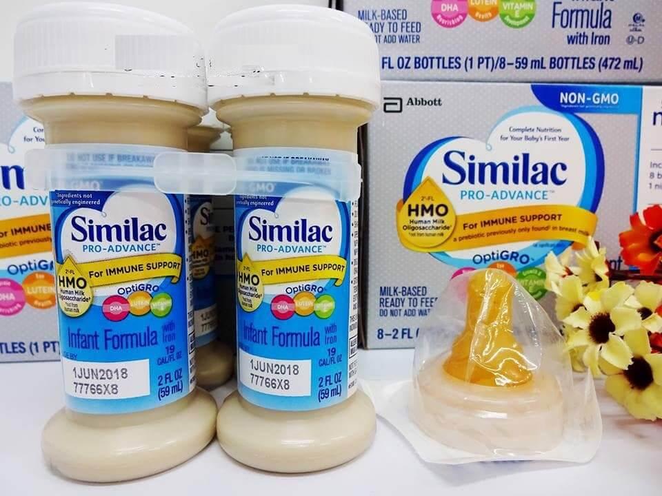 Sữa similac dạng nước có tốt không ? Nên dùng cho trẻ sơ sinh như thế nào ?