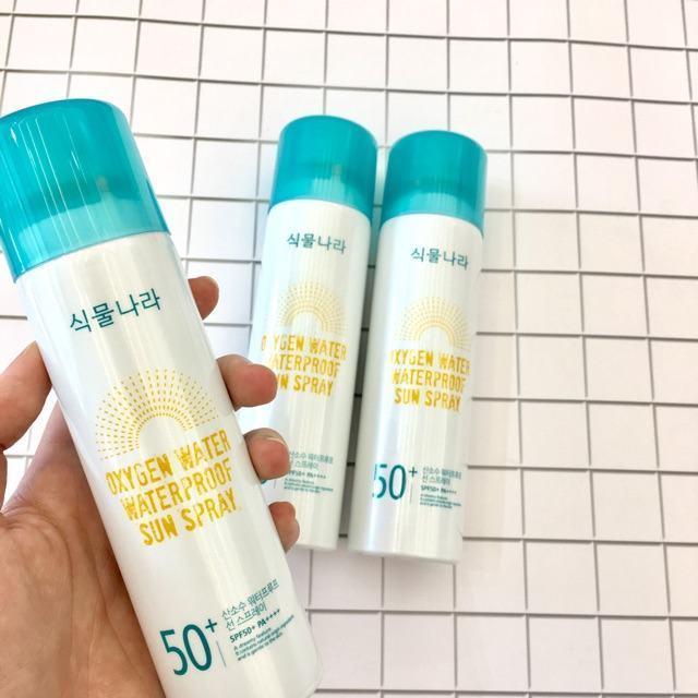 Oxygen Water Waterproof Sun Spray