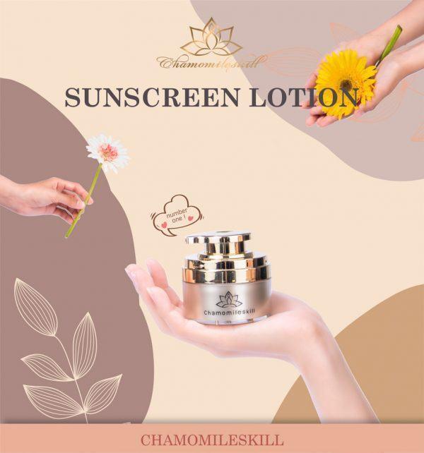 Kem chống nắng – Sunscreen Lotion