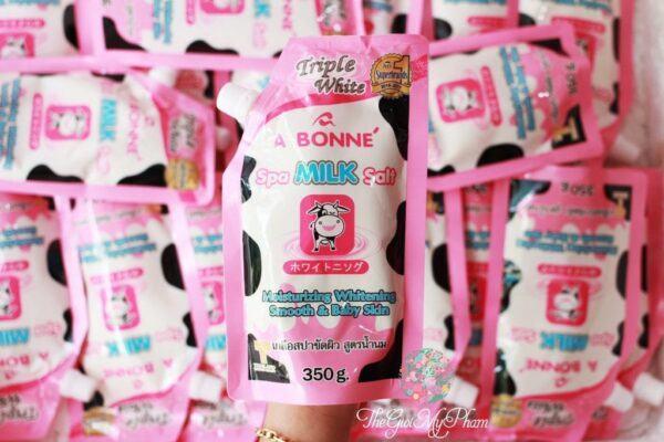 Muối tắm A Bonne Spa Milk Salt