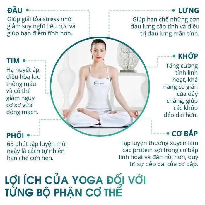 Lợi ích của tập yoga với sức khỏe bạn nên biết